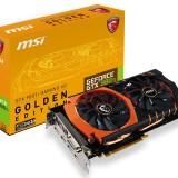 MSI выпустила «золотую» видеокарту GTX 980 Ti GAMING 6G Golden Edition