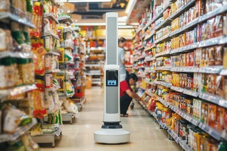 робот Telly для магазинов