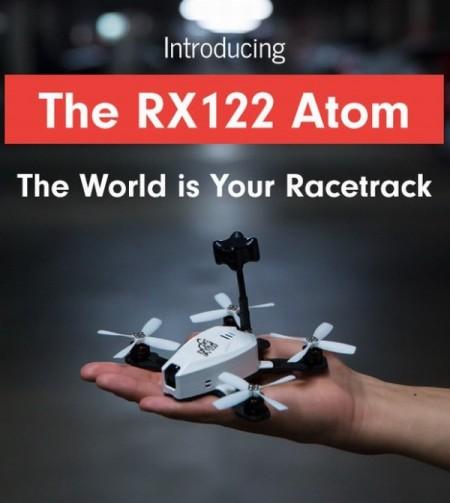 Дрон гоночный RotorX RX122 Atom, не требующий оформления
