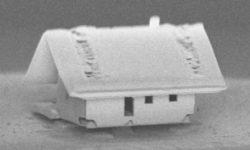 Самый маленький дом размером 15мкм
