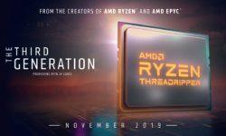 Официально: AMD выпустит флагманский Ryzen 9 3950X и новые Ryzen Threadripper 3000 в ноябре