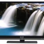 Телевизор со встроенным сабвуфером от Sharp