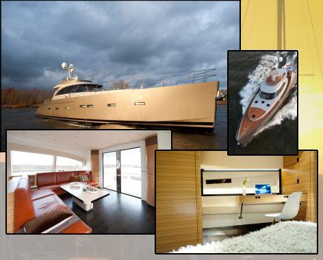 Новая яхта Acico-74