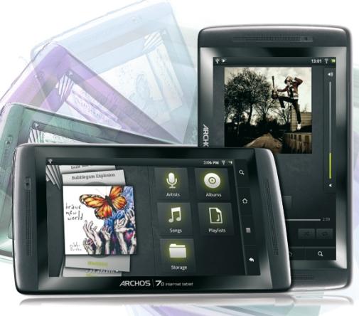 Новый планшет Archos 70