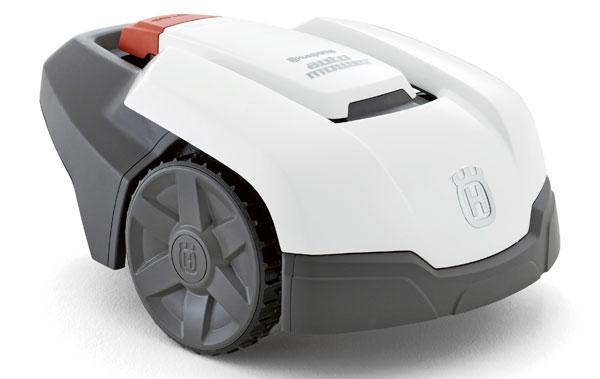 Automower 305 работает от электрических батарей