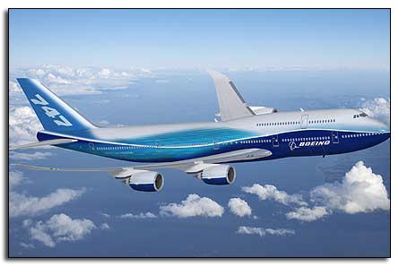 Испытания Боинга-747-8