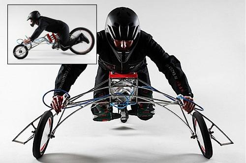 Безумный мотоцикл EX trike