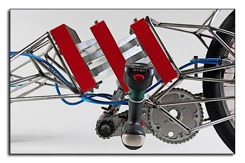 Сказочный мотор EX trike из винтовертов