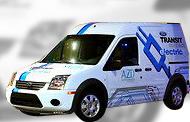 Электромобиль Ford Transit Connect