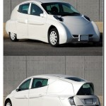 Японский электромобиль SIM-LEI