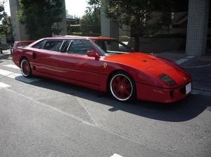 Лимузин Ferrari F40