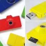 Цифровой фотоаппарат и флешка в одном