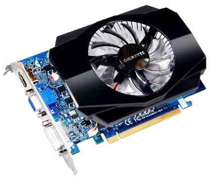 GeForce GT 220 от компании Gigabyte