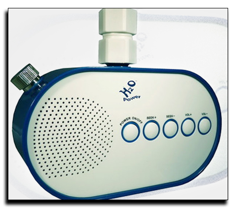 Радиоприемник для душа H2O
