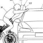 Honda Motor запатентовала новые подушки безопасности для мотоциклов