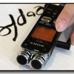 Диктофоны от Sony