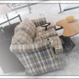 Четырехколесный диван по-японски