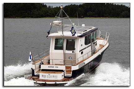 Гибридный катер Nord Star 31 Patrol Hybrid