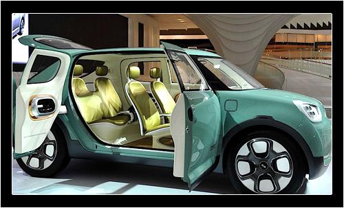 Внутренняя отделка электромобиля Kia Naimo включает корейский дуб