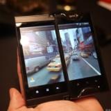 Смартфон Kyocera Echo с двумя сенсорными дисплеями