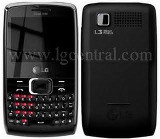 Телефон LG X335 с QWERTY клавиатурой