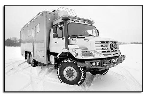 Mercedes Zetros 2733 A 6x6