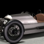 100 летний автомонстр Morgan 3 Wheeler