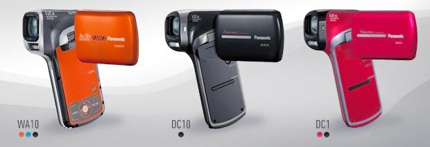 Видеокамеры Panasonic HX-WA10, HX-DC10 HX-DC1
