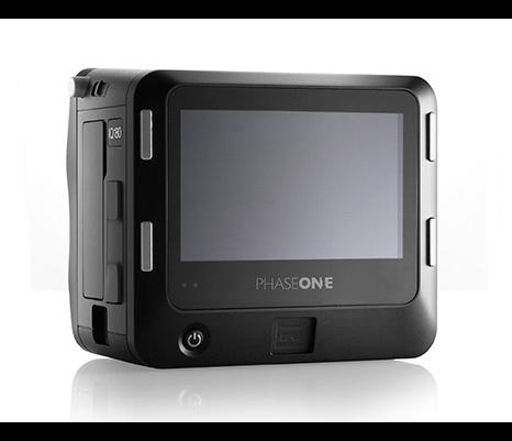 Фотокамера Phase One IQ180 имеет touch screen