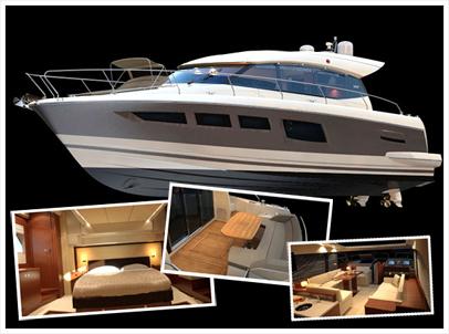 Моторная яхта Prestige500S