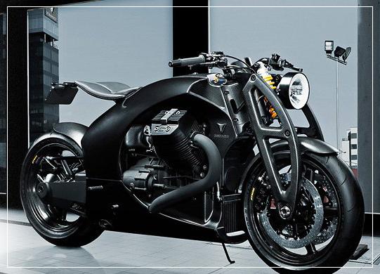Renard GT - первая модель мотоцикла компании Renard Cycles