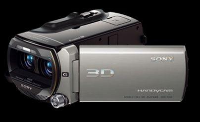 Новая 3D видеокамера от Sony