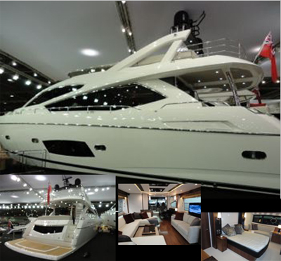 Новая яхта Sunseeker Manhattan 73