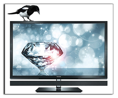 3D телевизор Toshiba 55ZL1