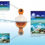 Фотокамера Underabove — в воде и над водой в одночасье