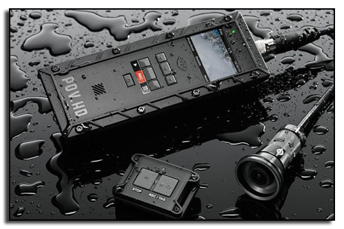 В состав камеры VIO POV HD входит объектив и блок управления