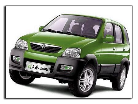 Китайский внедорожник Zotye SUV