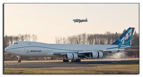 Грузовая версия Boeing 747-8 Freighter