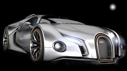 Очередной монстр от Bugatti - Veyron следующего поколения