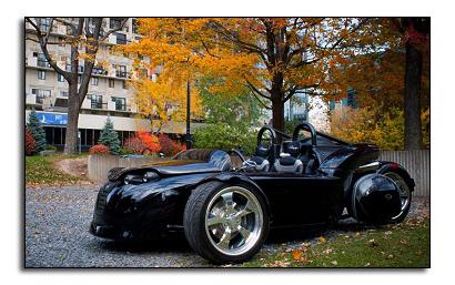 Черный цвет Campagna V13R один из пяти цветов заводской покраски