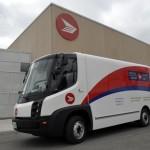 Первый почтовый электрофургон в Канаде