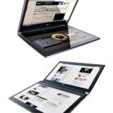 Один ноутбук — два дисплея