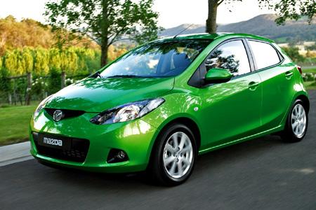 Основа для будующего электромобиля - Mazda 2 Demio