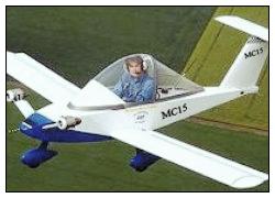 Электросамолет на базе портативной модели MC15