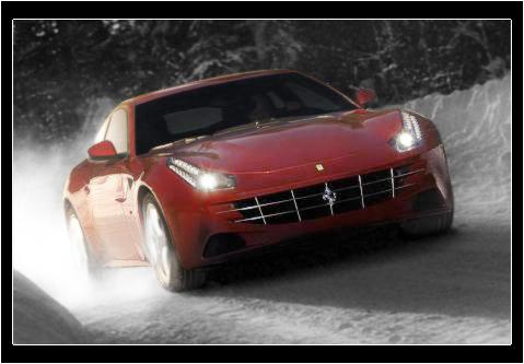 Пополнение от Ferrari - модель FF