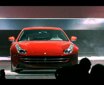 Пресс-релиз Ferrari FF