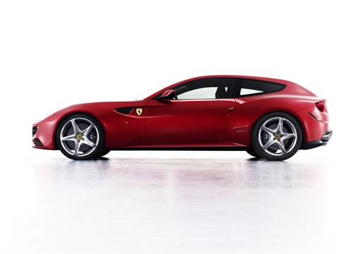 Ferrari FF обладает непревычным для этой компании дизайном