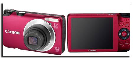 Фотокамера Canon A3300 IS