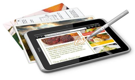 Управлять новым планшетом HTC Flyer можно будет и при помощи стилуса Pen Interaction