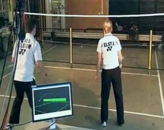 Jada - робот для игры в бадминтон